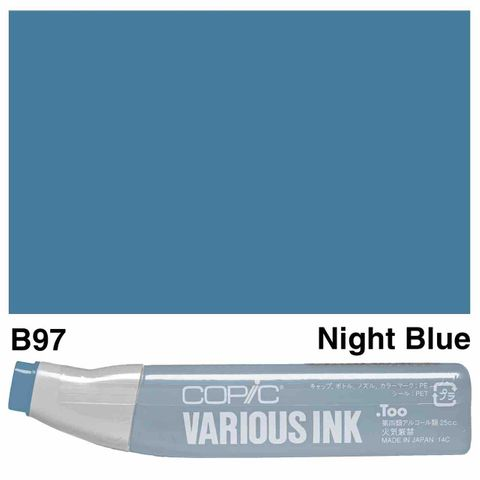 Copic Ink B97-Night Blue