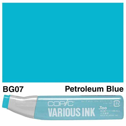 Copic Ink BG07-Petroleum Blue