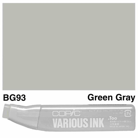 Copic Ink BG93-Green Gray