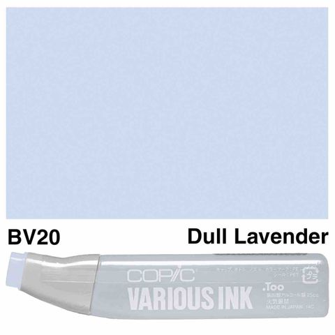 Copic Ink BV20-Dull Lavender