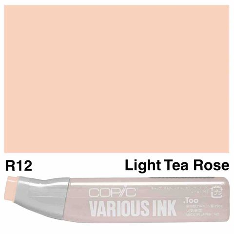 Copic Ink R12-Light Tea Rose