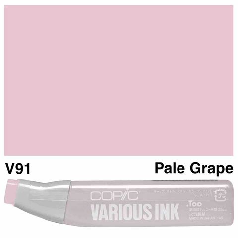 Copic Ink V91-Pale Grape