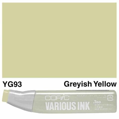 Copic Ink YG93-Grayish Yellow