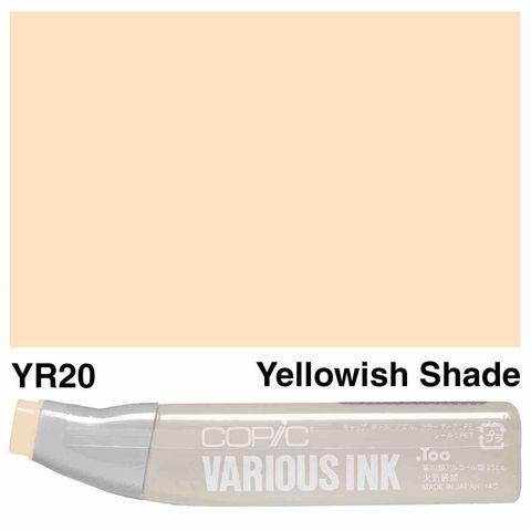 Copic Ink YR20-Yellowish Shade