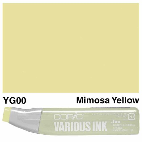Copic Ink YG00-Mimosa Yellow