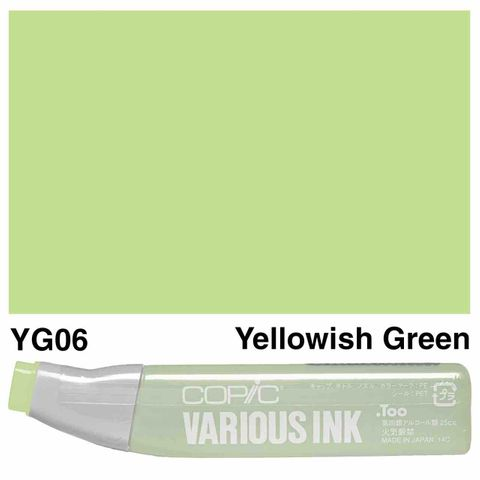 Copic Ink YG06-Yellowish Green