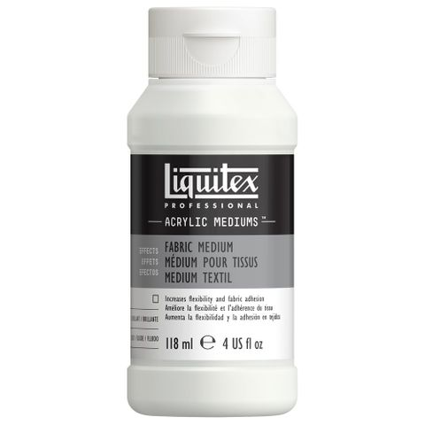 Liquitex Fabric Fluid Effects Medium