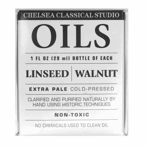 Chelsea Classic Sampler Oils ( Linseed & Walnut )
