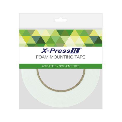XPRESS IT Foam Tape Acid Free 2mm x 12mm