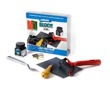 Derivan Block Ink Lino Printing Kit