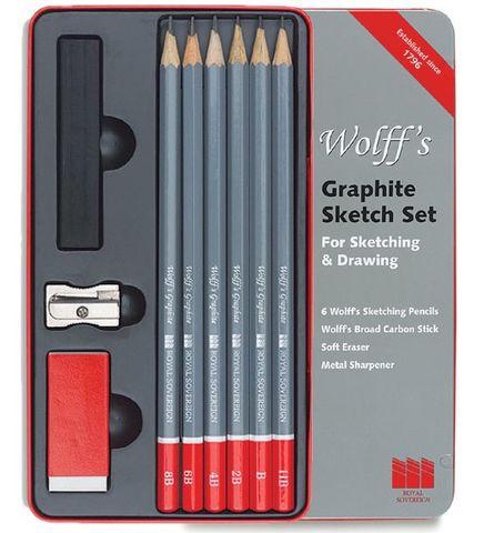 Wolff's Graphite Sketch Set