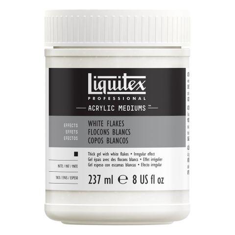 Liquitex White Flakes