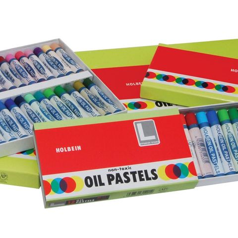 Holbein Student Oil Pastel Set 12