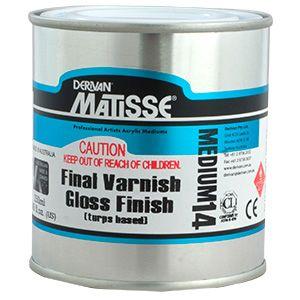 Matisse MM14 Gloss Varnish Turps Based 250ml