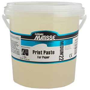 MATISSE MM22 Print Paste 4ltr