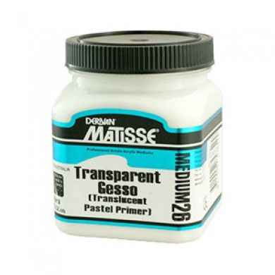 Matisse MM26 Transparent Gesso 1ltr