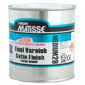 Matisse MM29 Satin Varnish Turps Based 500ml