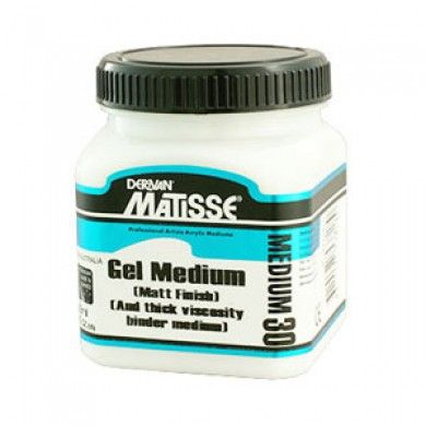 Matisse MM30 Matt Gel Medium 4ltr