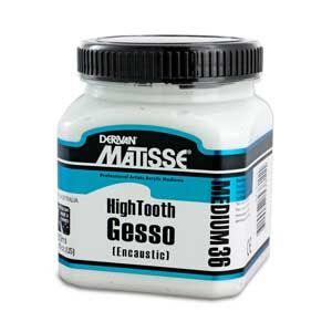 Matisse MM36 High Tooth Encaustic Gesso 4ltr
