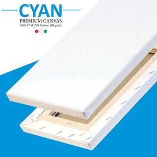 Cyan Canvars 18mm Depth Cotton (6 Pack )