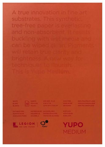 Yupo Synthetic Paper Pad (10 Sheets) 5x7''