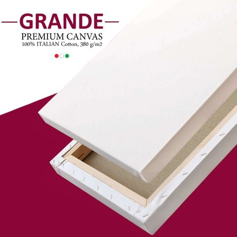 Grande Canvars 38mm Depth Cotton ( 5 Pack )