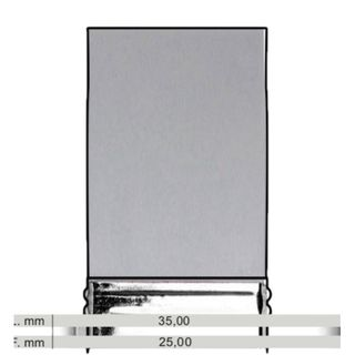 Tintoretto Series 1522 Grey Soft Silicone Mottler 25mm