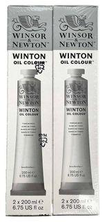 Winsor & Newton Winton 200ml Titanium White Twin Pack