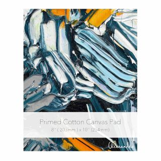 NEW Cotton Canvas Pads 8x10'' - 10 Sheets