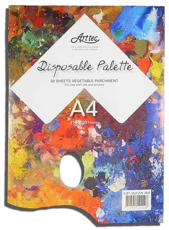 Arttec Disposable Palette 50Shts
