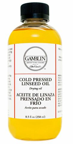 Gamblin Cold Pressed Linseed Oil