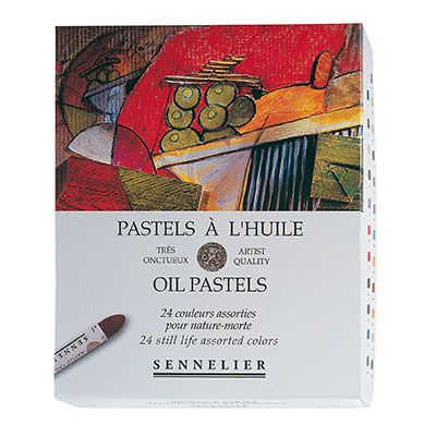 Sennelier Oil Pastel Set of 24 Still Life Colour Range