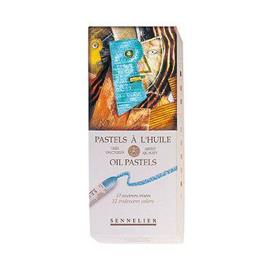 Sennelier Iridescent Oil Pastel Set of 12