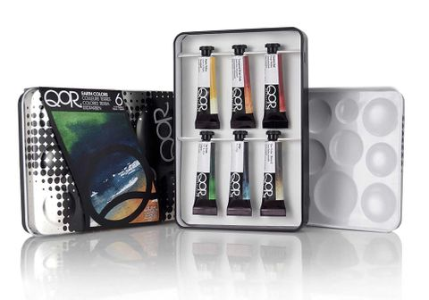 QOR Watercolour Earth Colour Set of 6
