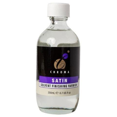 Chroma Satin Solvent Varnish