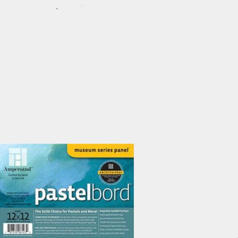 Ampersand Pastelbord WHITE