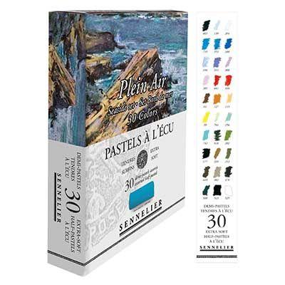 Sennelier Sets of 30 Half Pastels