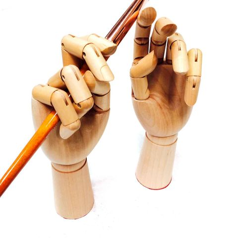 Wooden Hand Male