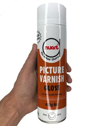 Nuart Picture Varnish GLOSS 400g