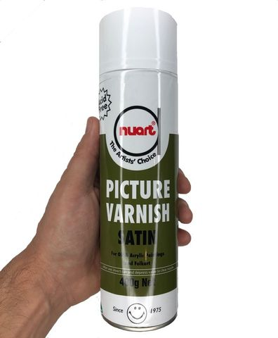 Nuart Picture Varnish SATIN 400g