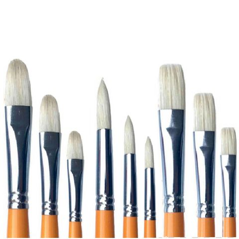 Alesandro Bristle Artist Set 9pcs