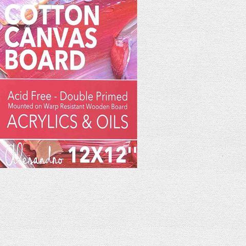 Artist Cotton Canvas Boards