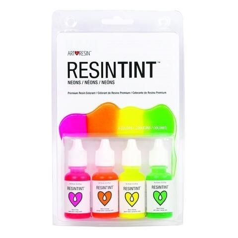 Art Resin Neon Ink Colours