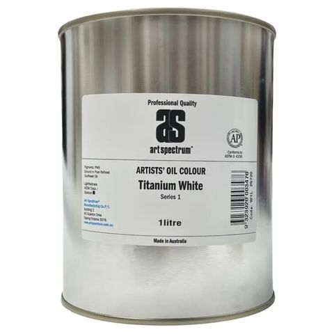 Art Spectrum 1 Litre White Oils