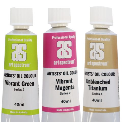 Art Spectrum Oils NEW COLOURS