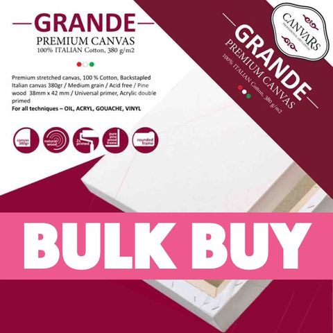 BULK BUY Grande Canvases