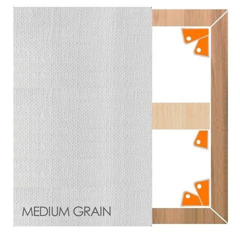 Belgian Acrylic Primed Linen 445GSM
