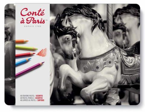 Conte Pastel Pencil Sets