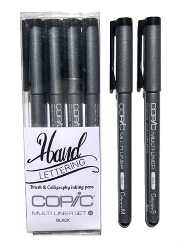 Copic Multiliner Calligraphy Pens & Sets