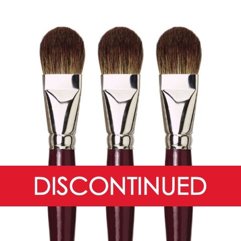 DaVinci Black Sable Oil Brush 1845 Series